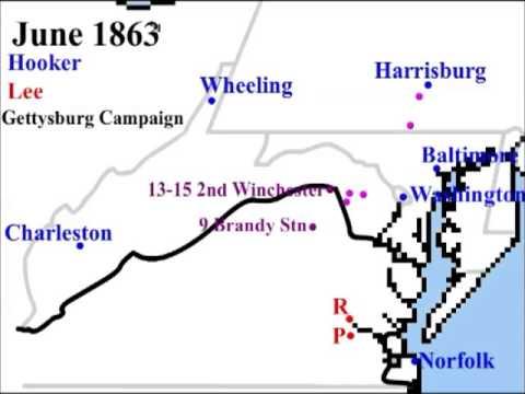 The Mid-Atlantic in the American Civil War, June 1861 - May 1865
