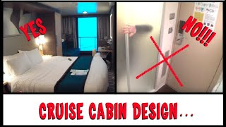 4 Cool Cruise Ship Cabins (and 1 AWFUL one) - Sunday Sofatime