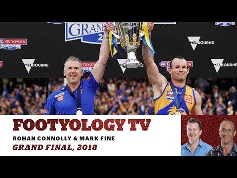 Footyology TV - 2018 AFL GF Review - West Coast Eagles v Collingwood Magpies