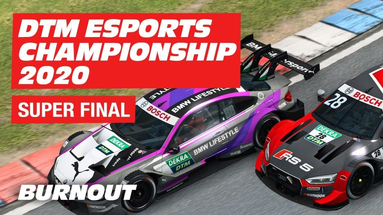 🔴  LIVE DTM Esports Championship 2020 | Round 5 | SUPER FINAL | BURNOUT