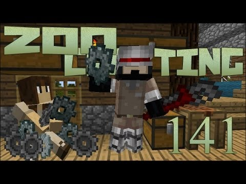 Caff Starts Tinkering! 🐘 Zoo Crafting: Episode #141 [Zoocast]