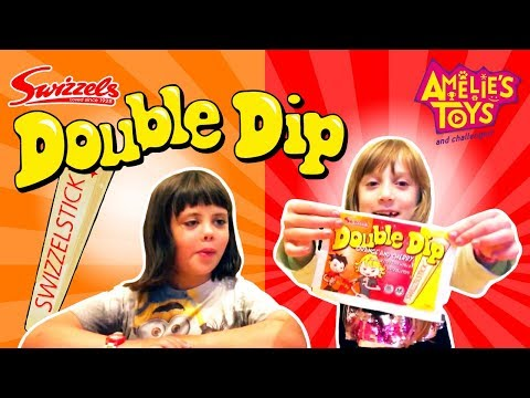 Swizzels DOUBLE DIP Candy Review | #AmeliesSweets