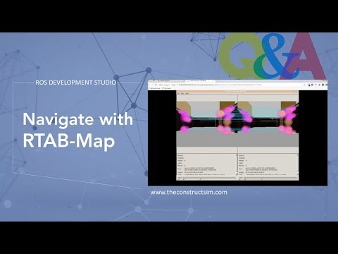 [ROS Q&A] 057 - Navigate with RTAB-Map