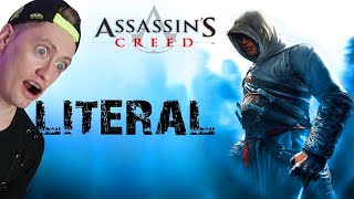 Литерал - Assassin's creed РЕАКЦИЯ