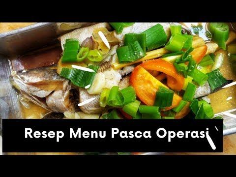 Resep Masakan Sehat Resep Tim Ikan Gabus Pasca Operasi Youtube