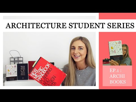 Most Recommended Books For Architecture School | Architecture Student Series: Ep.1