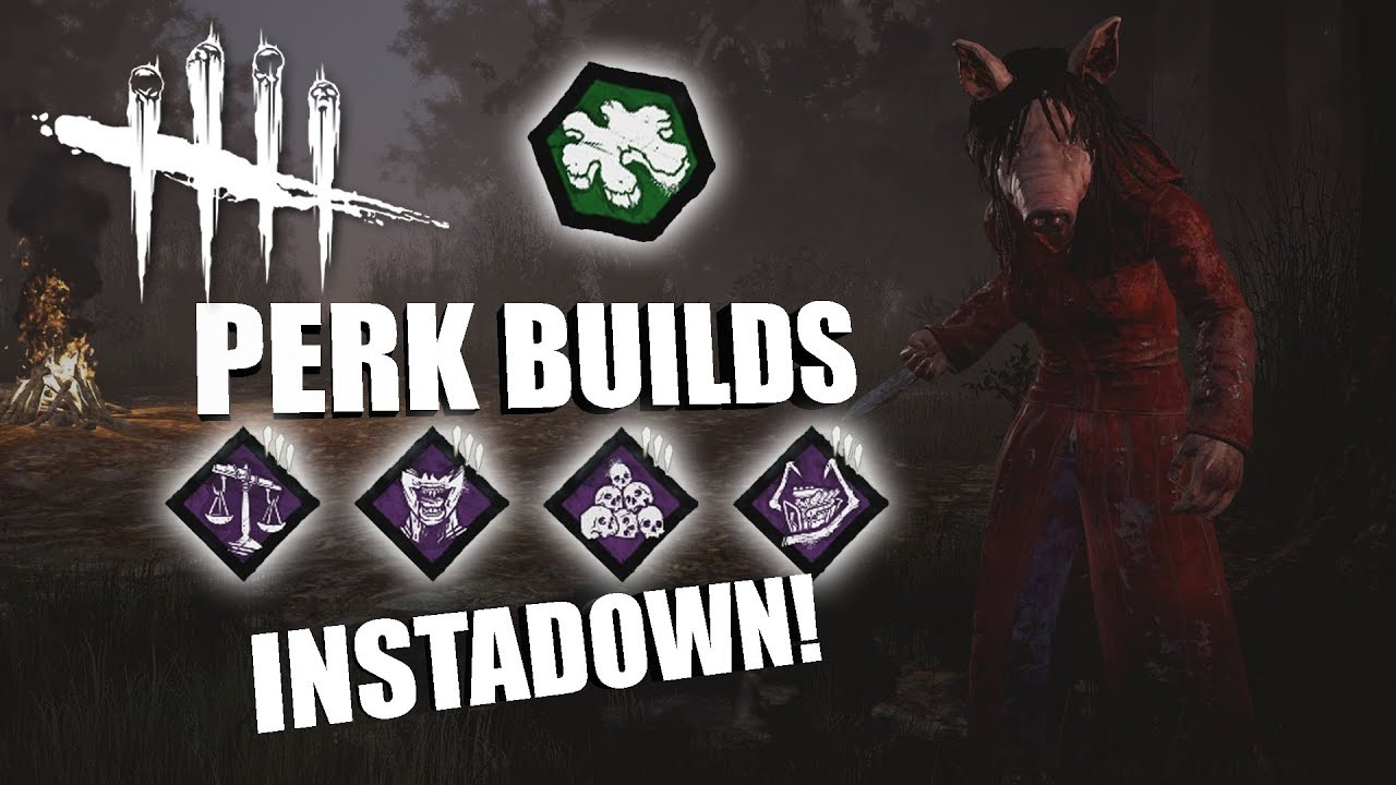 INSTADOWN! | Dead By Daylight THE PIG PERK BUILDS