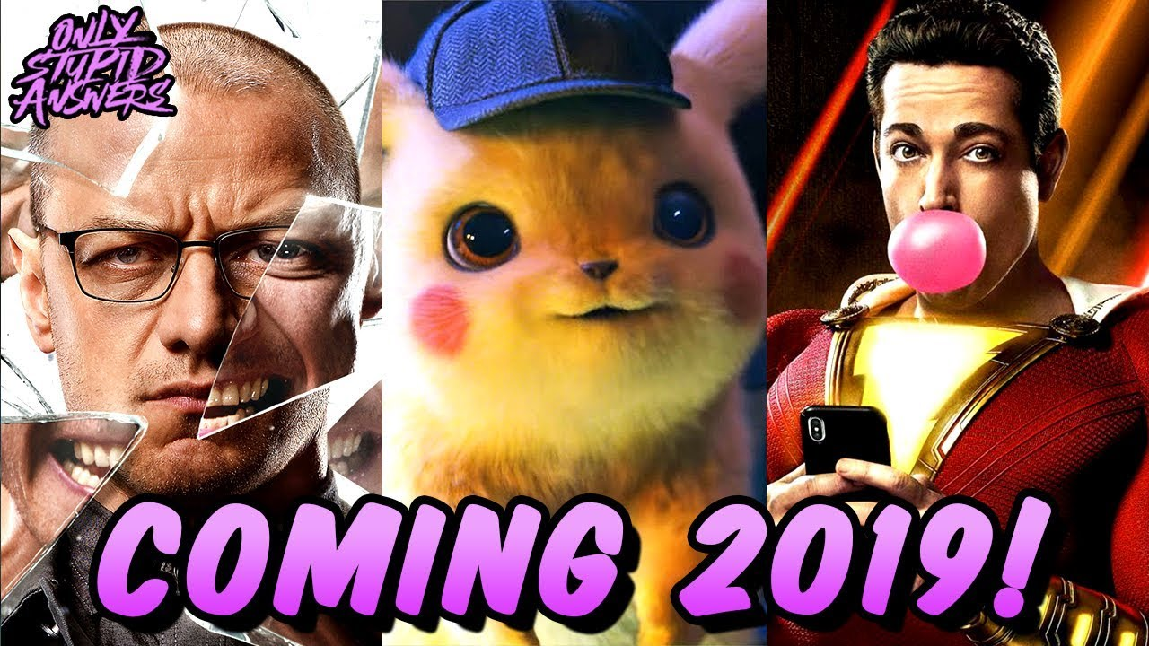 Most Anticipated Movies/TV Shows/Comics/Video Games of 2019!