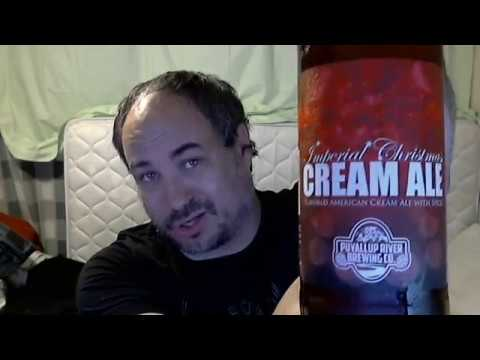 Puyallup River Brewing Imperial Christmas Cream Ale