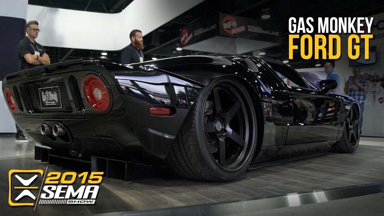 sema 2015 ford gt gas monkey garage w aaron kaufman. Black Bedroom Furniture Sets. Home Design Ideas
