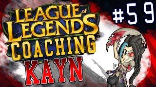 NEACE: KAYN JUNGLE COACHING #59, SEASON 7 LEAGUE OF LEGENDS