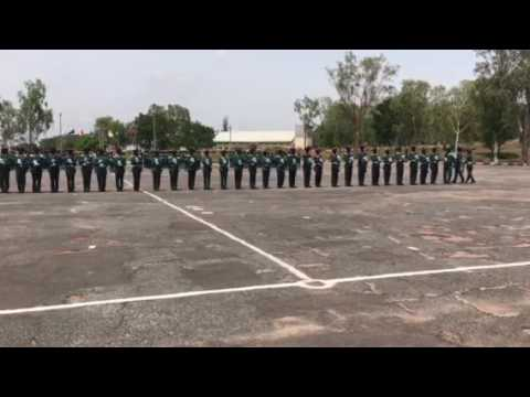 Silent Drill by Nigerian Military