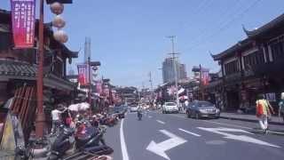 Walking tour Shanghai Old Street Shanghai China 上海老街至湖心亭