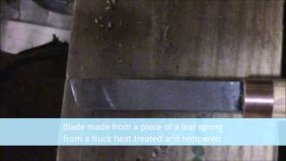 Homemade Wood Lathe Skew Chisel
