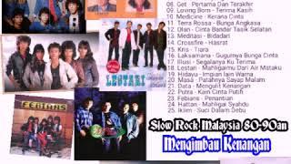 Lagu Slow Rock Malaysia 80-90an | Mengimbau Kenangan | Slow Rock Popular Malaysia 80-90an