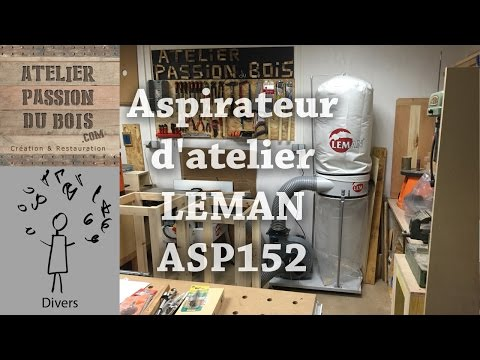 gamme de couleurs exceptionnelle vente en magasin les dernières nouveautés Revue d'outil: Aspirateur d'atelier LEMAN ASP152 (avis/test ...