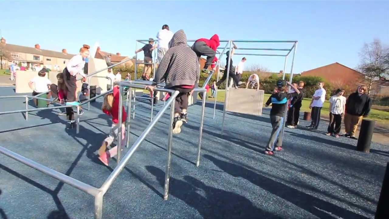 Grimsby Parkour Park Open Day