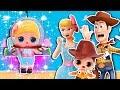 🤠 La Hija de WOODY y BETTY quiere ser ASTRONAUTA 🚀como BUZZ LIGHTYEAR! - Toy Story 4 Juguetes