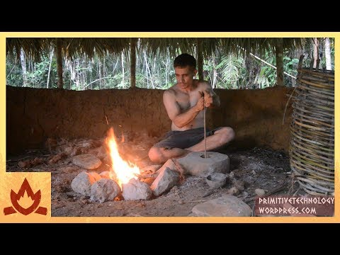 Primitive Technology: Blower and charcoal