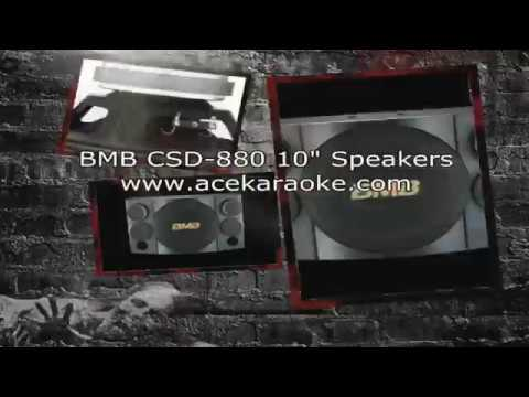 """BMB CSD 880 1000W 10"""" High Power Karaoke Speakers for sale $879 Pair"""