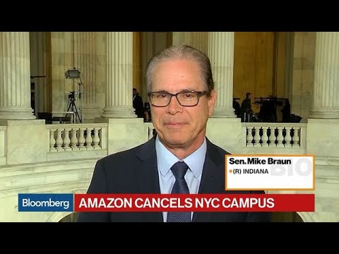 Indianapolis Would Love to Have Amazon, Sen. Braun Says