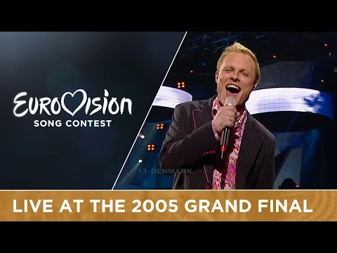 Jakob Sveistrup - Talking To You (Denmark) Live - Eurovision Song Contest 2005