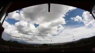 [Time-lapse clouds movie on youtube]