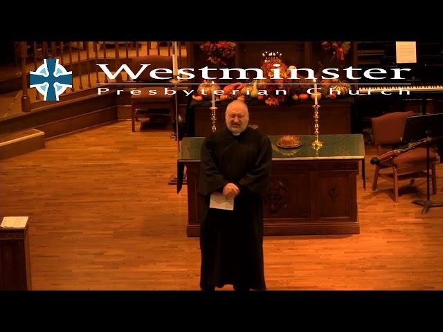WPC Sermon 11 22 20
