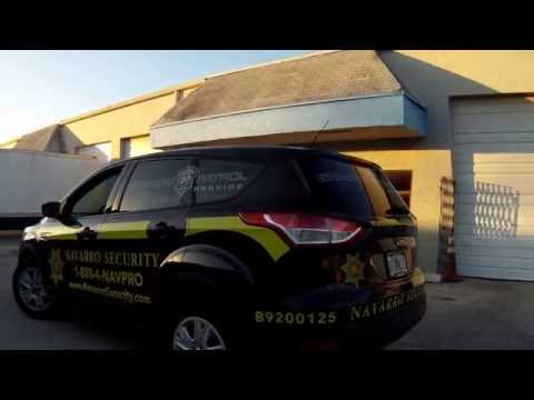 Security Patrol Car Wrap Graphics Fort Lauderdale, Florida