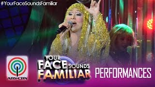 "Your Face Sounds Familiar: Jolina Magdangal as Cher - ""Believe"""