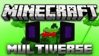 │TUTORIAL│ Minecraft plugin Multiverse Portal [CZ*HD]