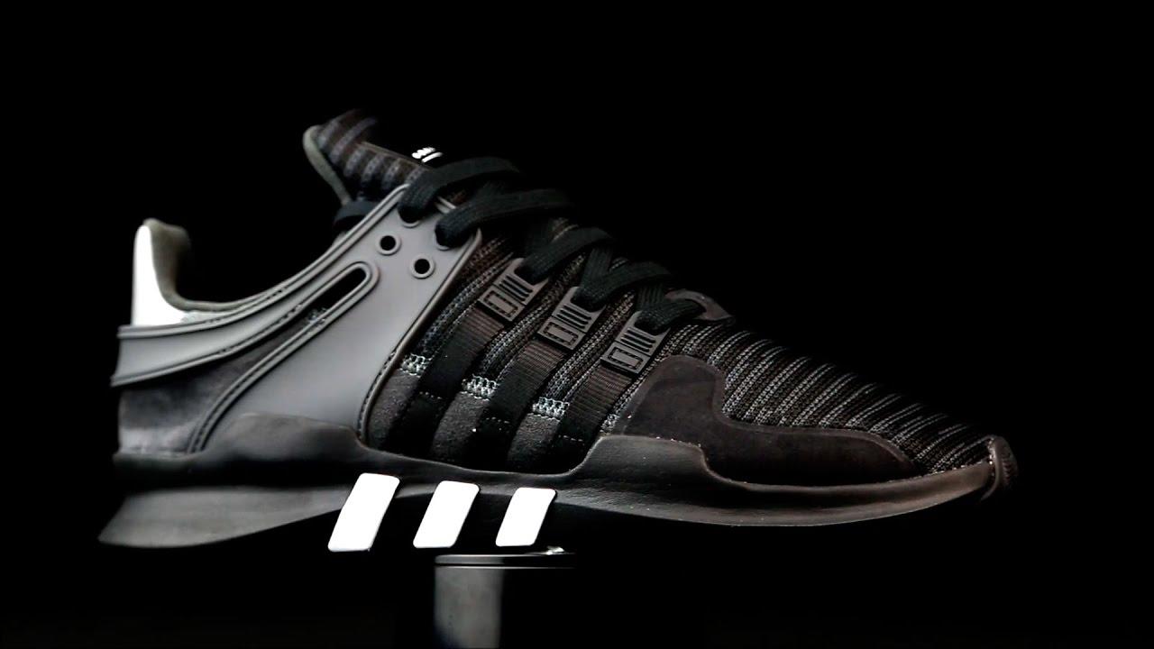 finest selection fa663 84d48 Adidas EQT Support color negro.