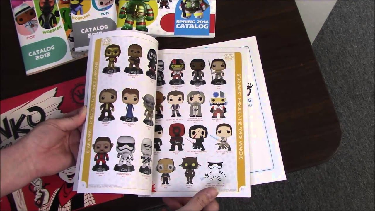 funko new 2016 catalog compared to an old 2002 catalog new york toy fair 2016 bbtoystore. Black Bedroom Furniture Sets. Home Design Ideas