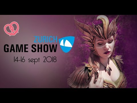 Pretzl Cosplay a guest at Zurich Game Show 2018 in Switzerland