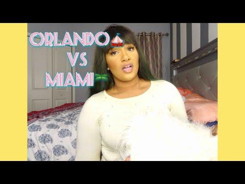 Living in Orlando Vs Miami 🌴😉