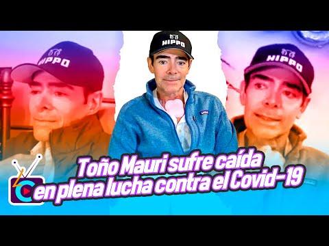 Toño Mauri sufre caída en plena lucha contra las secuelas del Covid-19
