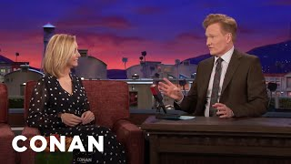 Lisa Kudrow Is Still Trying To Trace Conan's Genealogy​  - CONAN on TBS