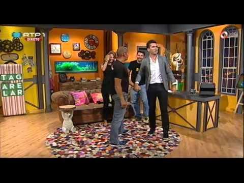 David Chan e Núria Madruga (Mad Stunts) - Pedro Fernandes - 5 Para a Meia Noite