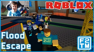 HELP I'M DROWNING!!! Roblox Flood Escape