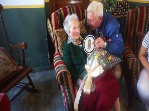 La abuela de Galicia celebra su 111 cumpleaños en Xermade