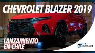 Lanzamiento en Chile: Chevrolet Blazer 2019