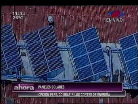 Paneles solares, una alternativa en Paraguay