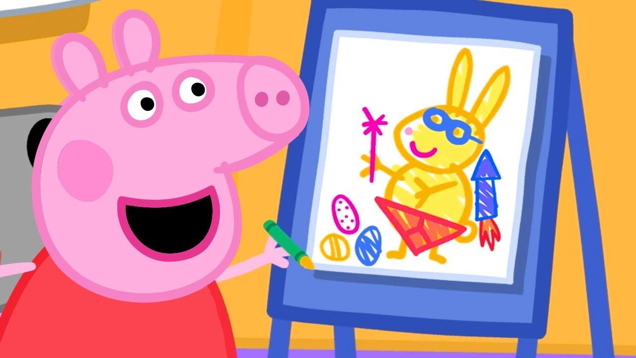 Peppa Pig Full Episodes Easter Bunny Cartoons For Children