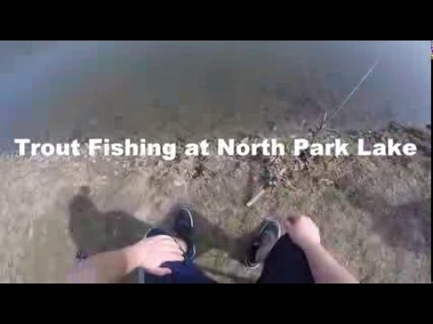 Mikey's Fishing Fun Time!- trout, north park lake