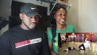 Sean Lew and Kaycee Rice - Ciara - Thinkin Bout You   Brian Friedman Choreography - REACTION