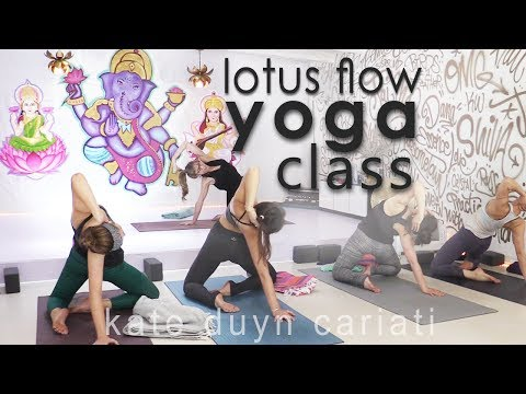 Lotus Flow Yoga Class with Kundalini Inspiration