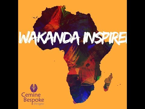 WAKANDA Inspired Jewellery | Tribal Jewelry | Cemine Bespoke Designs