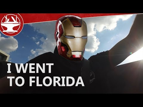 i went to florida for an iron man project! (casey neistat style vlog)
