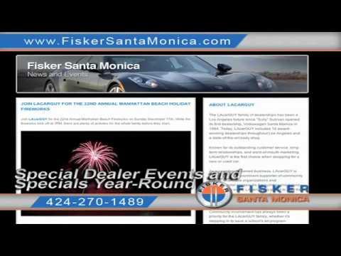 Santa Monica, CA 90404 New Fisker Karma For Sale