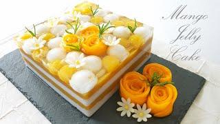高贵优雅~芒果果冻蛋糕 ❤...